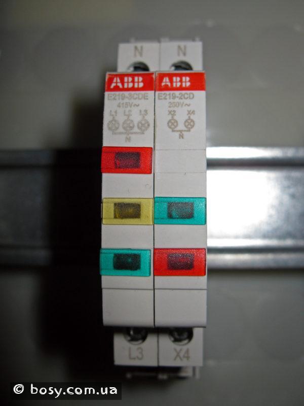 Щиток - модулі індикації