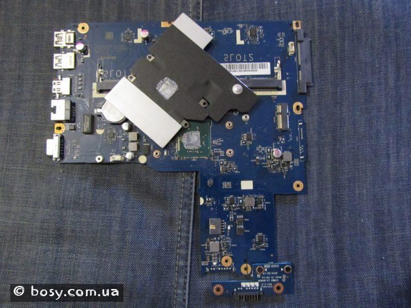 08 - плата ноутбука - знята пластина охолодження