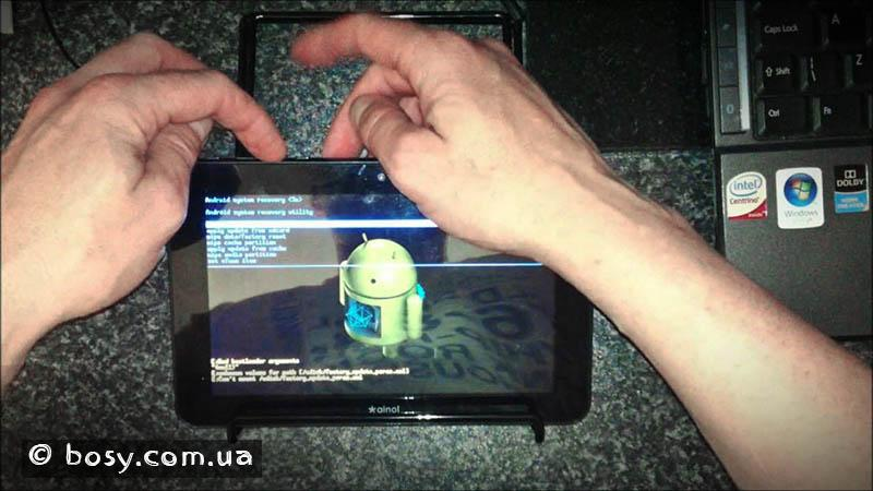 Как сделать hard reset планшет